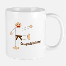Brown Belt Congratulations Mug