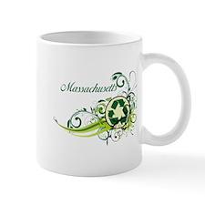 Massachusetts Recycle T-Shirts and Gifts Mug