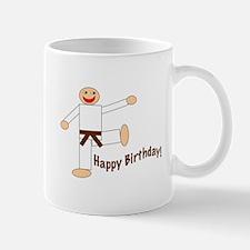 Martial Arts Brown Belt Birthday Mug