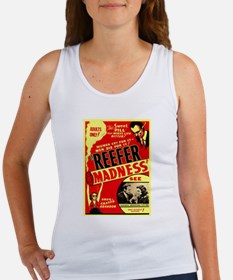Marijuana Reefer Madness Women's Tank Top