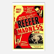 Marijuana Reefer Madness Postcards (Package of 8)