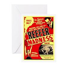 Marijuana Reefer Madness Greeting Cards (Pk of 20)