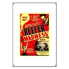 Marijuana Reefer Madness Banner
