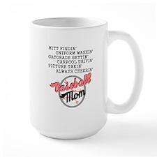 BASEBALL MOM-PINK Mug