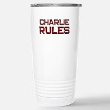 charlie rules Travel Mug