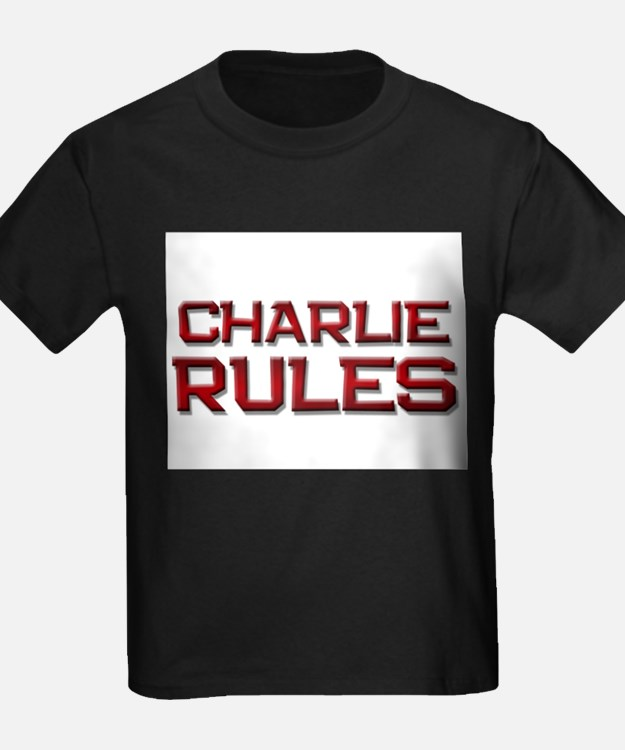 charlie rules T