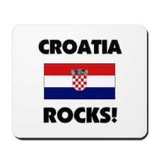 Croatia Rocks Mousepad