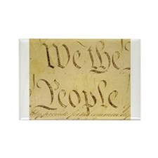 We The People II Rectangle Magnet
