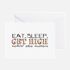 Get High Greeting Card