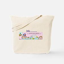 Cute Newspaper and coffee Tote Bag