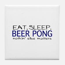 Beer Pong Tile Coaster
