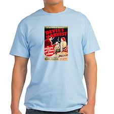 Marijuana Devil's Harvest Pot T-Shirt