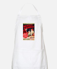Marijuana Devil's Harvest Pot BBQ Apron