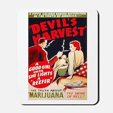 Marijuana Devil's Harvest Pot Mousepad