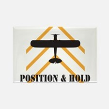 Aviation Airplane Runway Rectangle Magnet (10 pack
