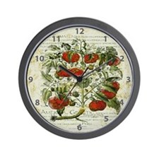 Vintage Garden Wall Clock