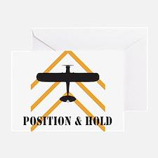 Aviation Airplane Runway Greeting Card