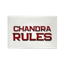 chandra rules Rectangle Magnet (10 pack)