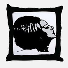 Frankies' Girl Throw Pillow