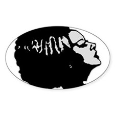 Frankies' Girl Oval Decal