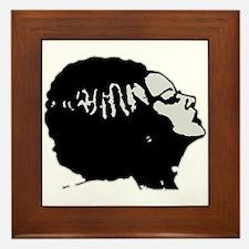 Frankies' Girl Framed Tile