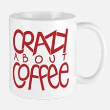 Crazy Coffee red Mug