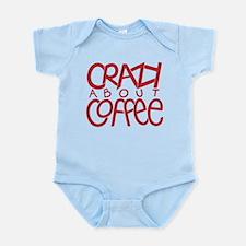 Crazy Coffee red Infant Bodysuit