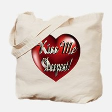 Kiss Me Deepest Tote Bag