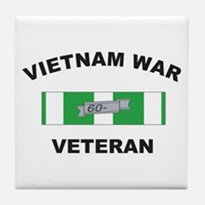 Vietnam War Veteran 1 Tile Coaster