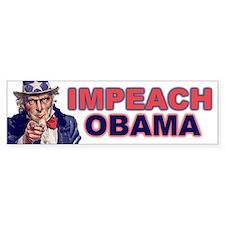 Impeach Obama Bumper Bumper Sticker