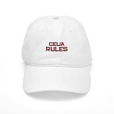 celia rules Baseball Cap