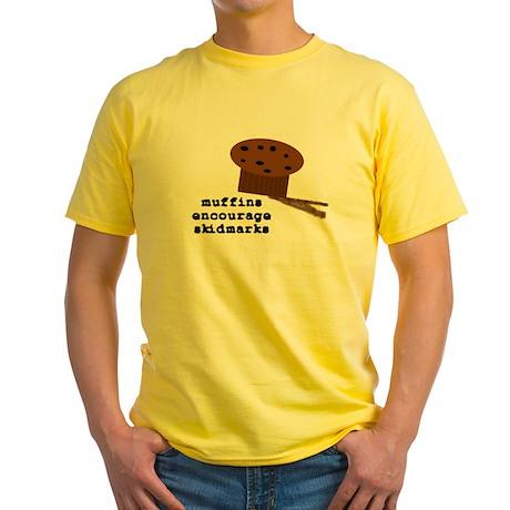 Skidmarkz Yellow T-Shirt