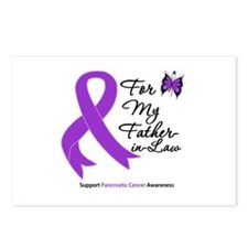 PancreaticCancer FatherInLaw Postcards (Package of