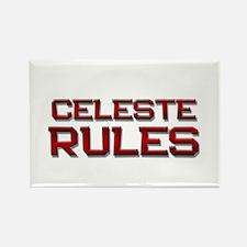 celeste rules Rectangle Magnet