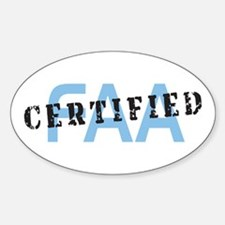 Aviation FAA Certified Decal