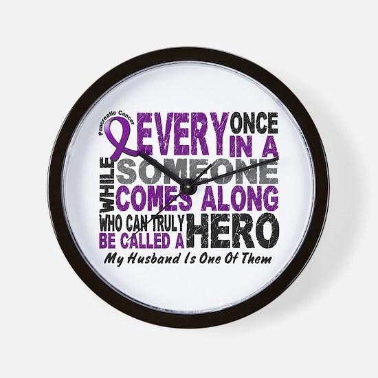 Hero Comes Along Husband Pancreatic Cancer Wall Cl