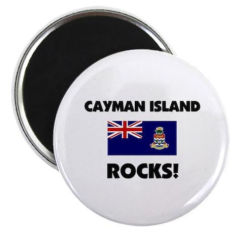 Cayman Island Rocks Magnet