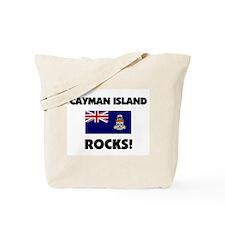 Cayman Island Rocks Tote Bag