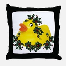 dUcK tHe hAllS! Throw Pillow