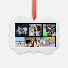 7 Photo Family Collage Ornament