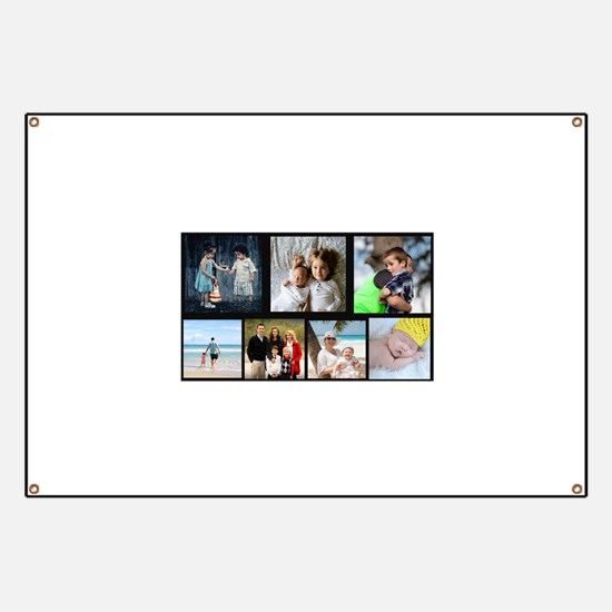 7 Photo Family Collage Banner