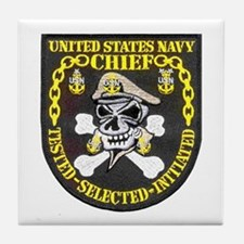 Chief Petty Officer Tile Coaster