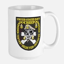 Chief Petty Officer Large Mug
