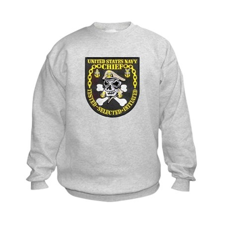 Chief Petty Officer Kids Sweatshirt