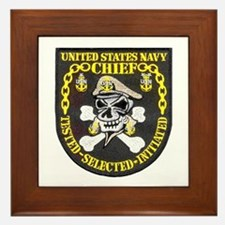 Chief Petty Officer Framed Tile