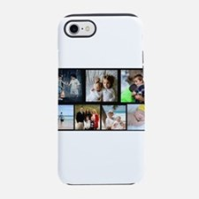 7 Photo Family Collage iPhone 7 Tough Case