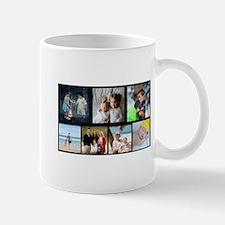 7 Photo Family Collage Mugs