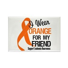 I Wear Orange For My Friend Rectangle Magnet