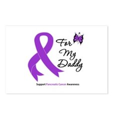Pancreatic Cancer Daddy Postcards (Package of 8)