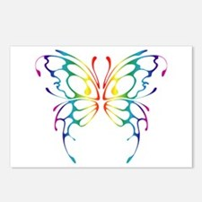 Rainbow Wings Postcards (Package of 8)